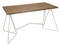 Escritorio Florence - Escritorio Florence, fabricado en madera de abeto y forja