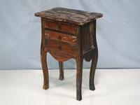 Mesa auxiliar Solo Vintage - Mesa auxiliar Solo Vintage, fabricado a mano en madera de mahogany