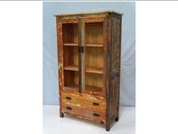 Vitrina Solo Vintage - Vitrina Solo Vintage, fabricado a mano en madera de mahogany
