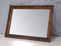 Espejo Solo Vintage - Espejo Solo Vintage, fabricado a mano en madera de mahogany