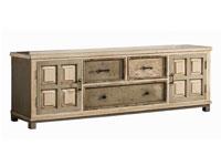 Mueble para televisión Madrás - Mueble para televisión Madrás, fabricado en mdf y madera de pino