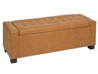 Banqueta retro vintage - Banqueta retro vintage, fabricada en polipiel estructura de madera