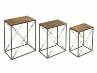 J3 mesas forja madera - J3 mesas forja madera