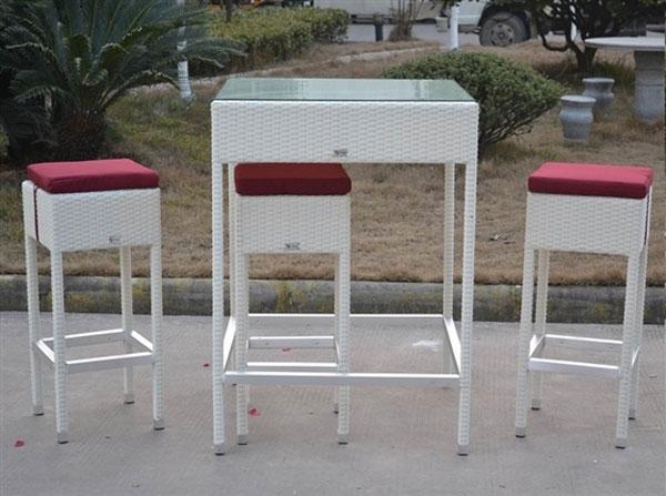 Pack MANÁ - Pack MANÁ, mesa alta + 6 taburetes