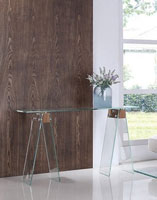 Consola ALHAMBRA - Consola ALHAMBRA, fabricada en madera y cristal