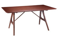 Mesa fija Amara - Mesa fija Amara, Fabricada en madera
