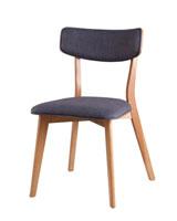 Silla Anais - Silla Anais, fabricada en madera y tapizado
