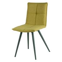 Silla ZOE - Silla ZOE, fabricada en metal y tapizado