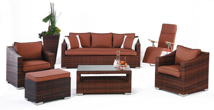 Set de sofás de exterior modelo Sulaves nº2 - Set de muebles de jardín modelo Sulaves nº2