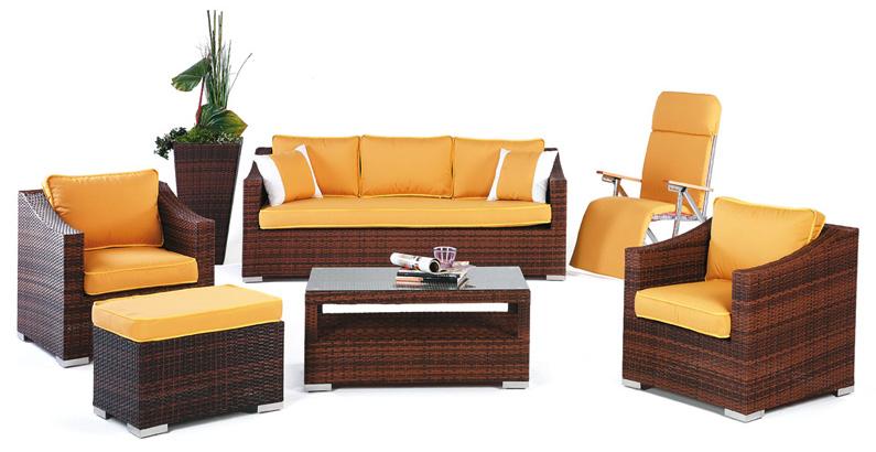 Set de sofás de exterior modelo Sulaves nº2 - Set de muebles de jardín modelo Supersulaves