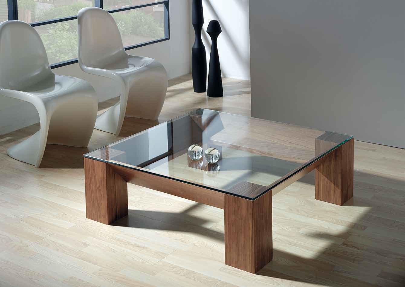 Mia home mesa de centro adra for Mesas de centro de cristal modernas