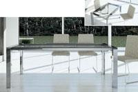 Mesa de comedor extensible Tama - Mesa de comedor extensible Tama, Cuadrada o rectangular
