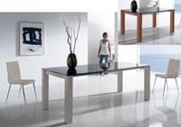 Mesa de comedor extensible Martina de grandes dimensiones - Mesa de comedor extensible Martina de grandes dimensiones