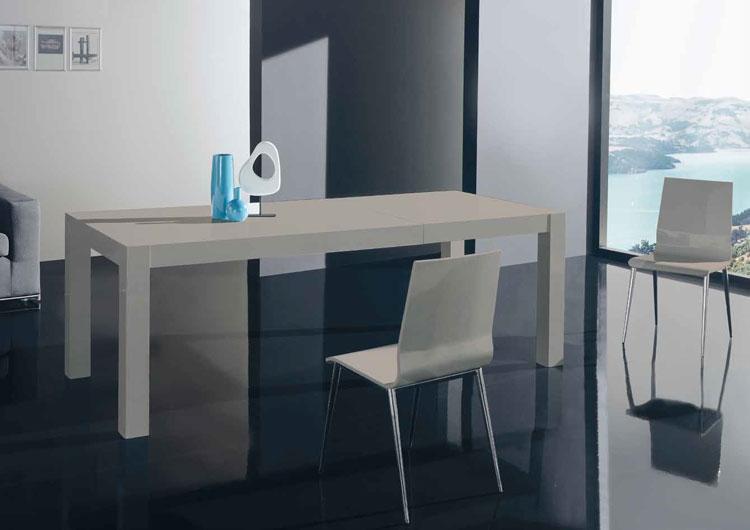 Mia home mesa de comedor extensible nela - Dimensiones mesa comedor ...