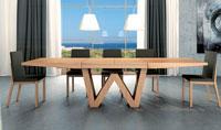 Mesa de comedor extensible Wenda M