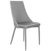 Silla Cohen - Silla Cohen, silla de estructura metálica tapizada en poliéster