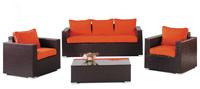 Set de sofás para exteriores Tivoli - Juego de muebles huitex para exteriores modelo Tivoli