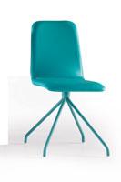 Silla Beta SP - Silla Beta SP, asiento tapizado y estructura metálica
