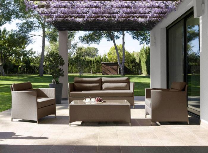 Sillones exteriores great sillones de palets para - Mobiliario de exteriores ...