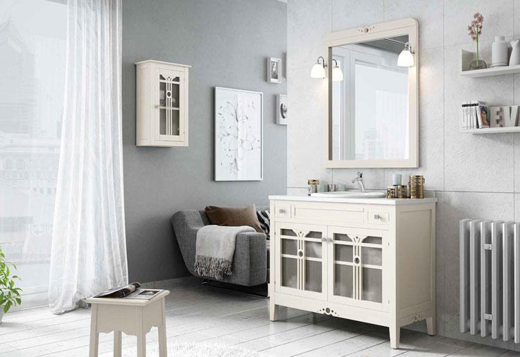 Muebles para baño LIRA 2 - Composición de muebles para baños LIRA 2, Colección de muebles de baño llena de alta calidad, diseño y relax.