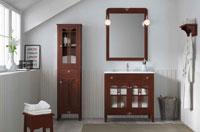 Muebles para baño LIRA 3 - Composición de muebles para baños LIRA 3, Colección de muebles de baño llena de alta calidad, diseño y relax.