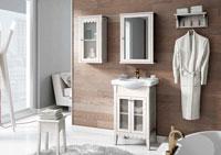 Muebles para baño VENECIA 1 - Composición de muebles para baños VENECIA 1, Colección de muebles de baño llena de alta calidad, diseño y relax.