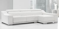 Sofá Micol - Moderno y minimalista sofá Micol