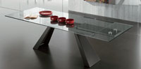 Mesa de comedor extensible BESIDE