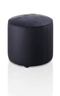 Otomán o mueble auxiliar multiusos tapizado - Otomán o mueble auxiliar multiusos tapizado en blanco o negro