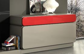 Aparador bordes curvos o redondeados varios colores - Aparador retro lacado