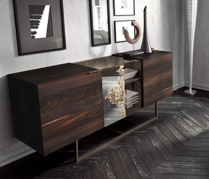 Adesivos De Natal Vitrine ~ Aparador efecto madera natural Muebles Madrid, muebles arganda, muebles San Sebastián de los