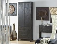 Armario entrada IMO - Armario de comedor o de entrada madera negra