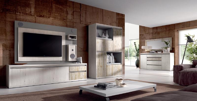 Salón moderno 2901 colección KAY