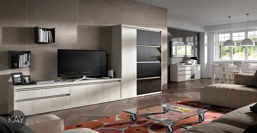 Salón moderno 2922 colección KAY