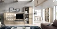 Salón moderno 2924 colección KAY - Muebles de salón 2924 colección KAY, La colección de muebles modernos KAY nos permite como vemos en la fotografía mezclar diferentes tipos de muebles y diferentes alturas para conseguir la composición más adecuada a nuestro estilo de vida