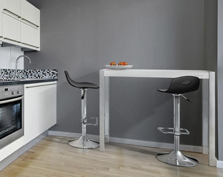Barras de cocina for Altura barra cocina