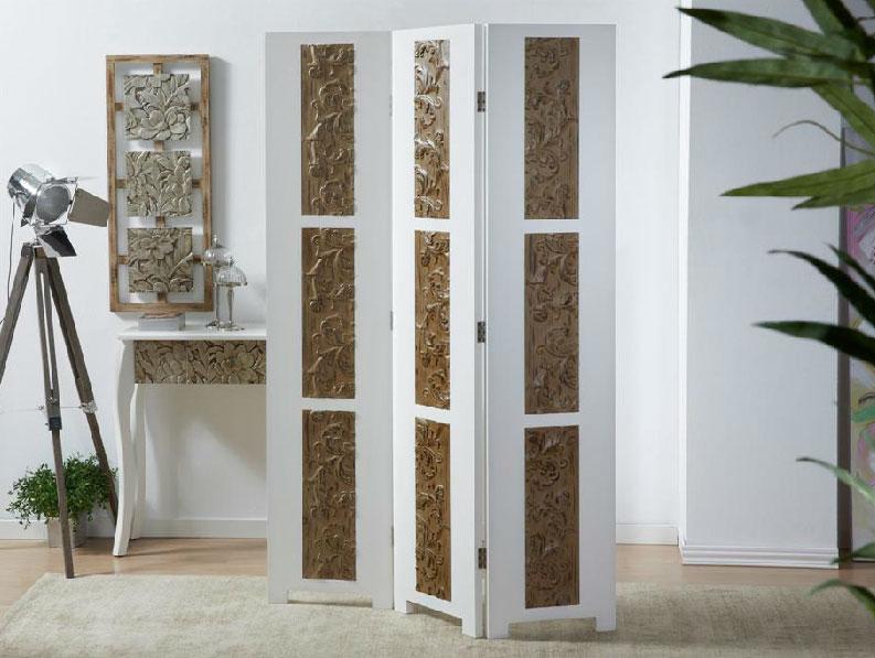 Biombos caseros japons muebles tabique de madera panel de - Biombos para exteriores ...