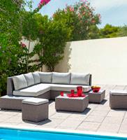 Set de sofá Floyd para exteriores - Set de sofá Floyd para exterior