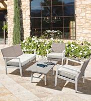 Set de sofa, sillónes y mesa de centro Flash - Set de sofa, sillón y mesa de centro Flash