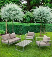 Set de muebles C-C JAKOB - Set de muebles C-C JAKOB / Incluye: 1 Sofa, 2 Sillónes y 1 mesa de centro