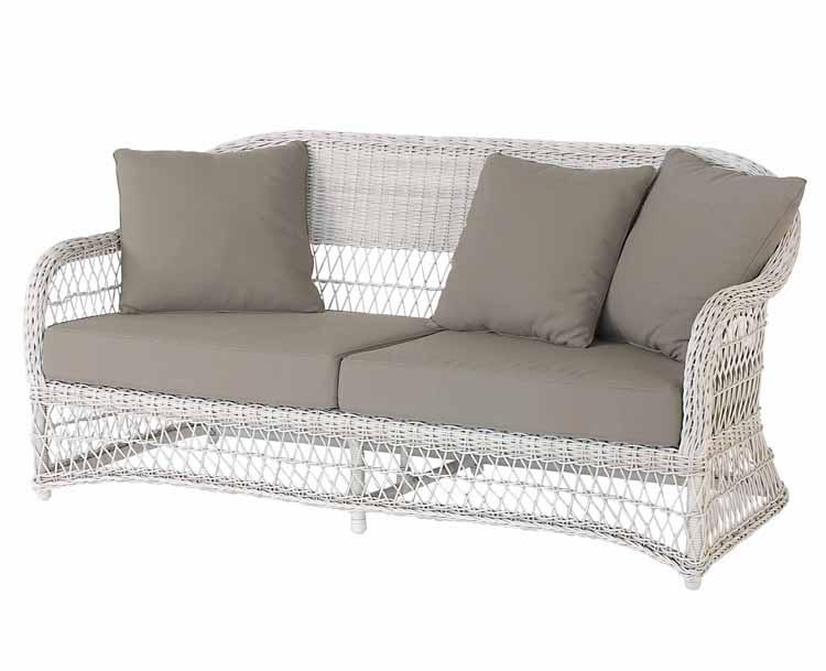 Conjunto sof s exterior estructura aluminio for Sofa exterior aluminio blanco