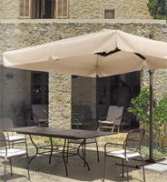 Toldo con base lateral estructura de aluminio 3 - Color beige