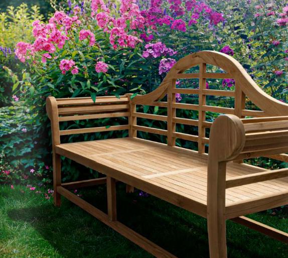 Banco para jard n exteriores madera teca for Bancos exteriores jardin