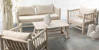 Conjunto muebles y mesas de Teca 1 - Diseño de alto nivel