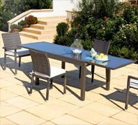 Comedor para exteriores con mesa extensible - Mesa disponible en dos tamaños