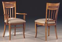 Silla y sillón clásicos 22 - Madera maciza alta calidad