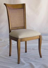 Silla y sillón clásicos 24 - Madera maciza alta calidad