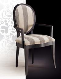 Silla y sillón clásicos 27 - Madera maciza alta calidad