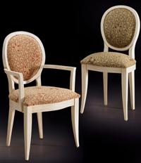 Silla y sillón clásicos 31 - Madera maciza alta calidad