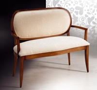 Sofá clásico - Madera maciza alta calidad